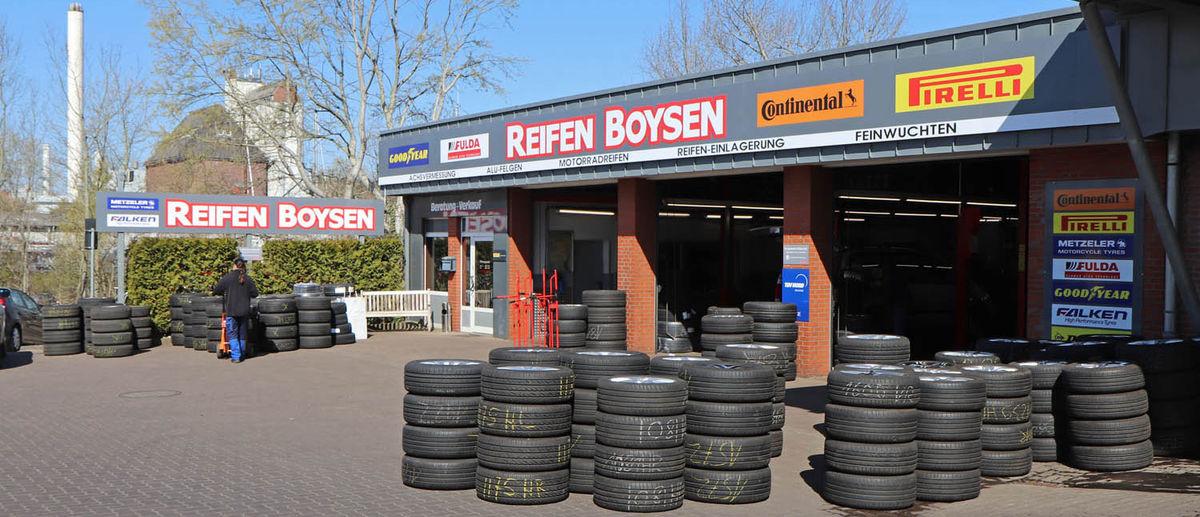 Reifen Boysen in Flensburg