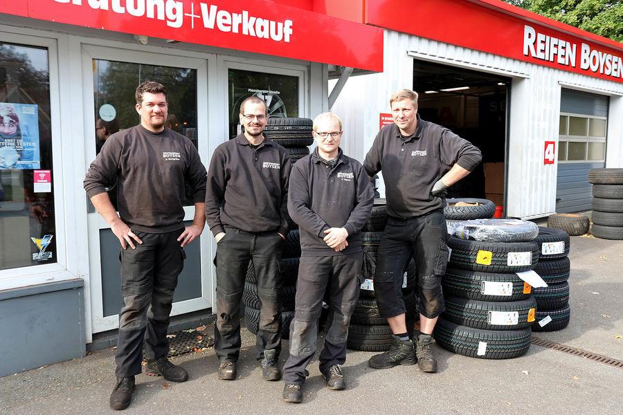 Reifen Boysen in Schleswig - Team